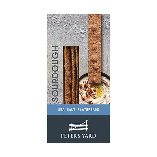 Peter's Yard Sourdough Flatbread- Sea salt 115g [WHOLE CASE] by Peter's Yard - The Pop Up Deli