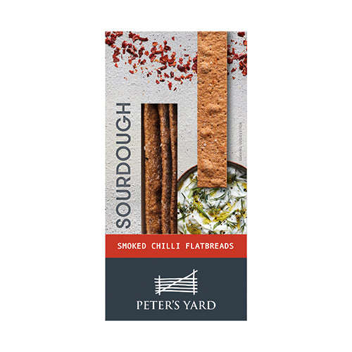 Peter's Yard Sourdough Flatbread- Smoked chilli 115g [WHOLE CASE] by Peter's Yard - The Pop Up Deli
