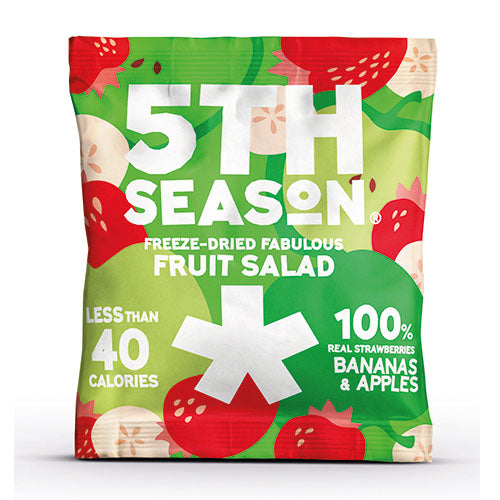 5th Season Freeze-Dried Fruit Salad Bites 11g [WHOLE CASE] by 5th Season - The Pop Up Deli