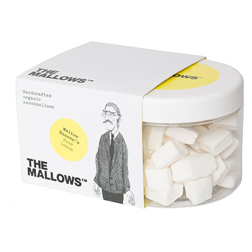 The Mallows Sour Lemon - Walter Hansen 150g [WHOLE CASE] by The Mallows - The Pop Up Deli