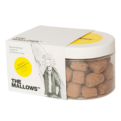 The Mallows Chocolate Coated Intense Banana - Gabriel Rodriguez 180g [WHOLE CASE] by The Mallows - The Pop Up Deli