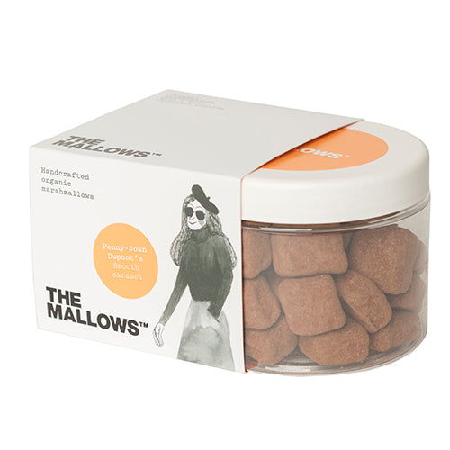 The Mallows Chocolate Coated Smooth Caramel - Penny-Joan Dupont 180g [WHOLE CASE] by The Mallows - The Pop Up Deli