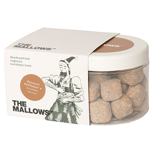 The Mallows Chocolate Coated Gourmet Mocha - Bernard Hoffmans 180g [WHOLE CASE] by The Mallows - The Pop Up Deli