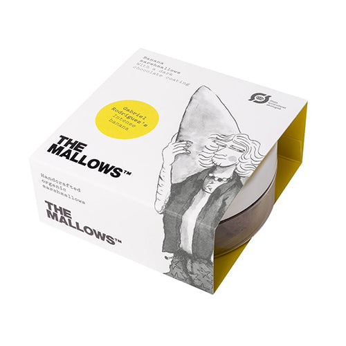 The Mallows Chocolate Coated Intense Banana - Gabriel Rodriguez 80g [WHOLE CASE] by The Mallows - The Pop Up Deli