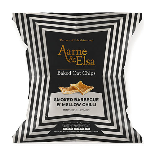 Aarne & Elsa Baked Oat Chips Smoked Barbecue & Mellow Chilli [WHOLE CASE] by Aarne & Elsa - The Pop Up Deli