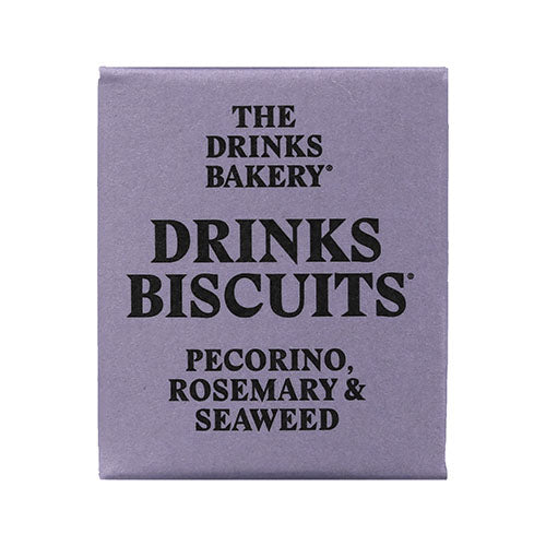 Drinks Biscuits - Pecorino, Rosemary & Seaweed 20g [WHOLE CASE] by The Drinks Bakery - The Pop Up Deli