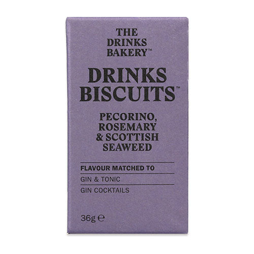 Drinks Biscuits - Pecorino, Rosemary & Seaweed 36g [WHOLE CASE] by The Drinks Bakery - The Pop Up Deli