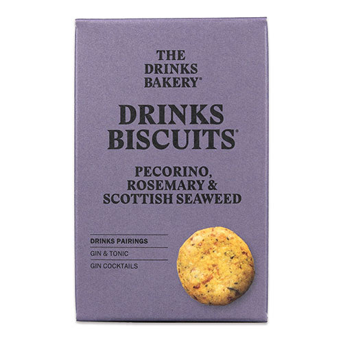 Drinks Biscuits - Pecorino, Rosemary & Seaweed 110g [WHOLE CASE] by The Drinks Bakery - The Pop Up Deli