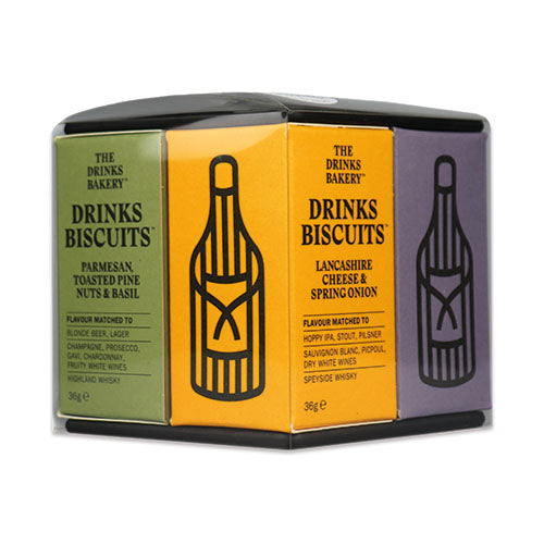 The Discerning Drinkers Gift Set 275g [WHOLE CASE] by The Drinks Bakery - The Pop Up Deli