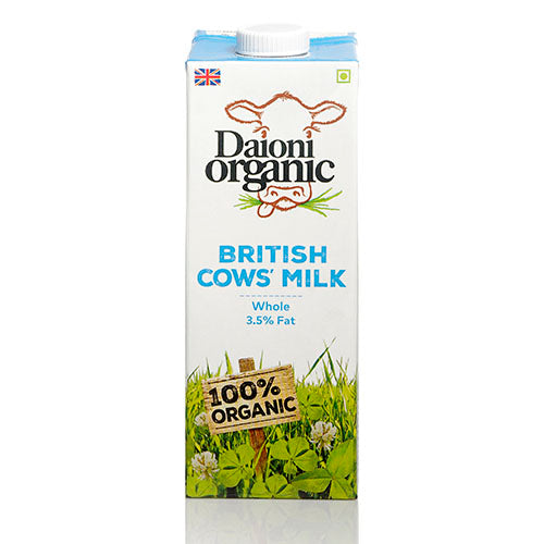 Daioni Organic UHT Whole Organic Milk 1L [WHOLE CASE] by Daioni Organic - The Pop Up Deli