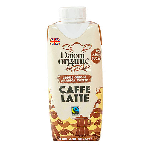 Daioni Organic Caffe Latte 330ml [WHOLE CASE] by Daioni Organic - The Pop Up Deli