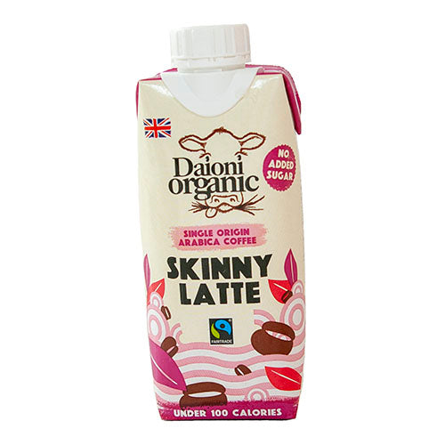 Daioni Organic Skinny Latte 330ml [WHOLE CASE] by Daioni Organic - The Pop Up Deli