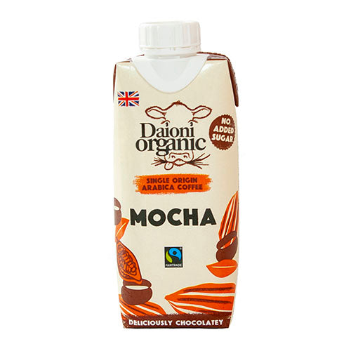 Daioni Organic Mocha 330ml [WHOLE CASE] by Daioni Organic - The Pop Up Deli