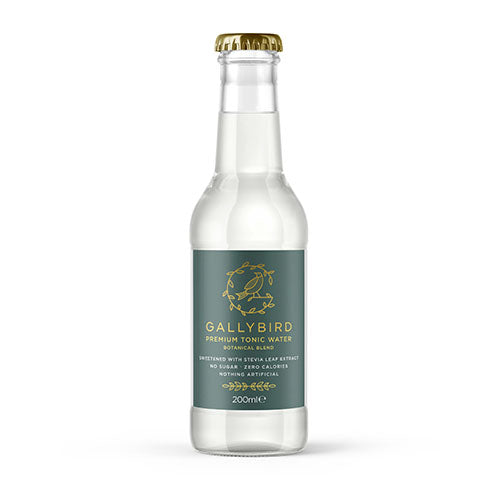 Gallybird Premium Tonic Water - Botanical Blend 200ml [WHOLE CASE] by Gallybird - The Pop Up Deli