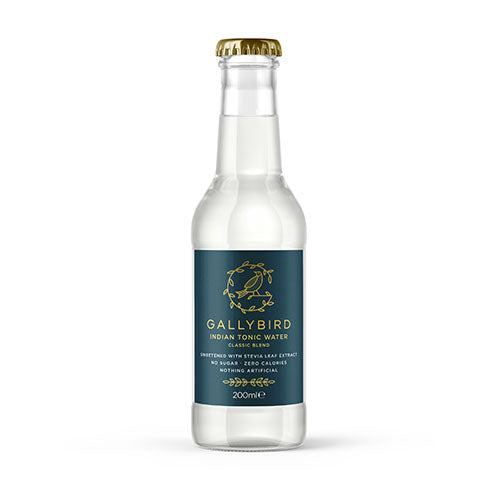 Gallybird Indian Tonic Water - Classic Blend 200ml [WHOLE CASE] by Gallybird - The Pop Up Deli