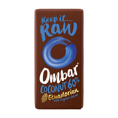 Ombar Coconut 60% 35g [WHOLE CASE] by Ombar - The Pop Up Deli