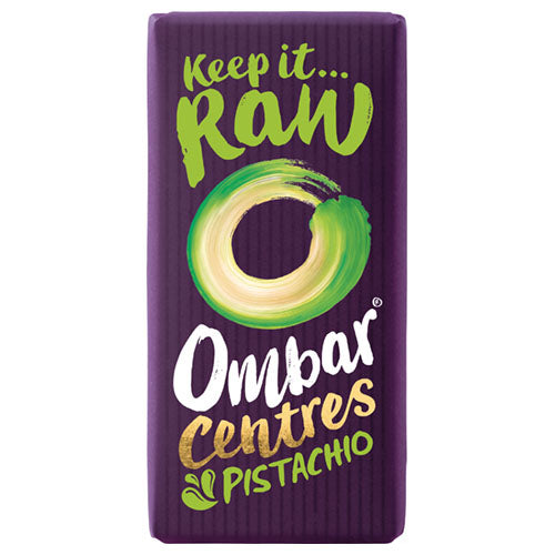 Ombar Pistachio Centre 35g [WHOLE CASE] by Ombar - The Pop Up Deli