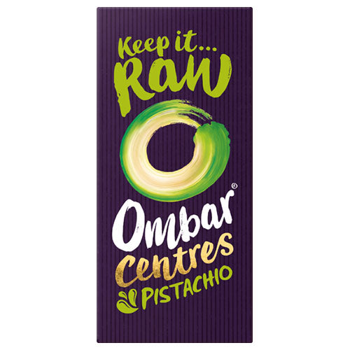 Ombar Pistachio Centre 70g [WHOLE CASE] by Ombar - The Pop Up Deli