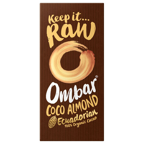 Ombar Coco Almond 70g [WHOLE CASE] by Ombar - The Pop Up Deli