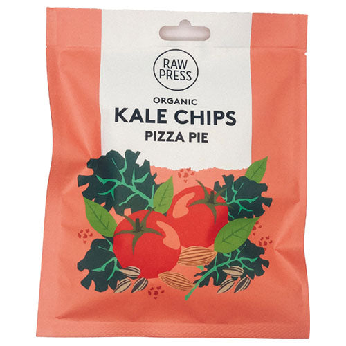 Raw Press Pizza Pie Kale Chips 20g [WHOLE CASE] by Raw Press - The Pop Up Deli