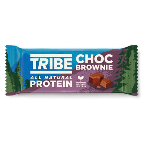 TRIBE Choc Brownie Vegan Protein Bar 50g [WHOLE CASE] by TRIBE - The Pop Up Deli