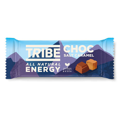 TRIBE Choc Salt Caramel Infinity Energy Bar 50g [WHOLE CASE] by TRIBE - The Pop Up Deli