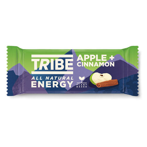 TRIBE Apple & Cinnamon Infinity Energy Bar 47g [WHOLE CASE] by TRIBE - The Pop Up Deli