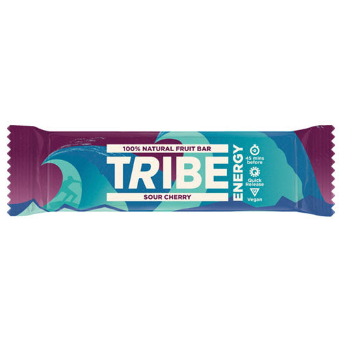 TRIBE Sour Cherry Blaze Trail Energy Bar 42g [WHOLE CASE] by TRIBE - The Pop Up Deli
