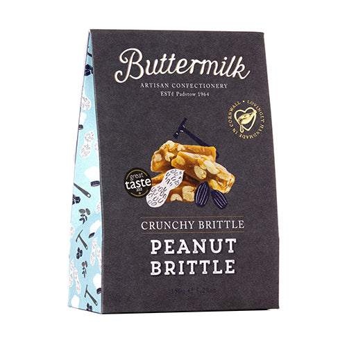 Buttermilk Crunchy Peanut Brittle Sharing Box 150g [WHOLE CASE] by Buttermilk - The Pop Up Deli