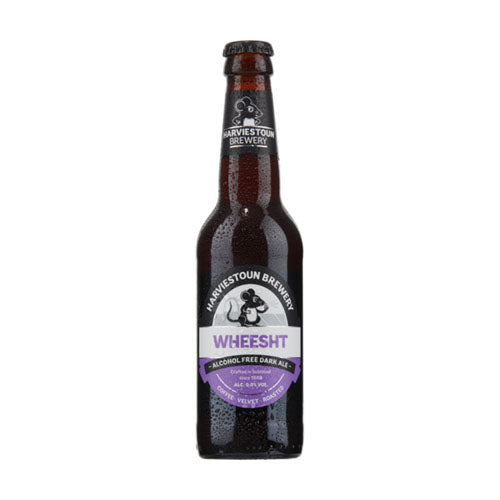 Harviestoun Brewery Wheesht Alcohol Free Dark Beer 0.0% 33cl [WHOLE CASE] by Harviestoun Brewery - The Pop Up Deli