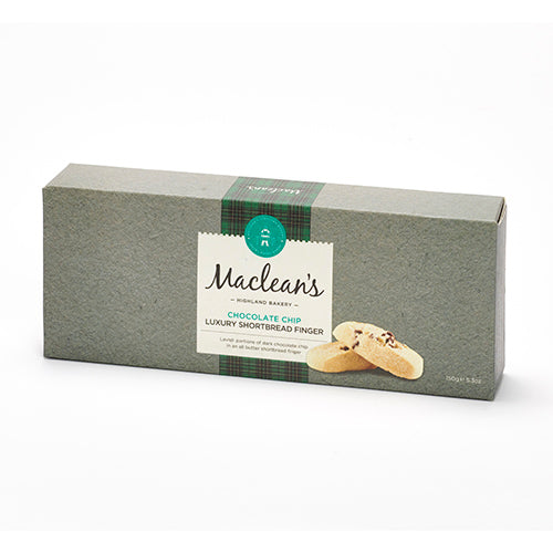 Macleans Chocolate Chip Shortbread Fingers [WHOLE CASE] by Macleans Highland Bakery - The Pop Up Deli