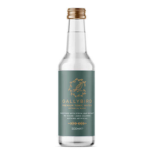 Gallybird Premium Botanical Tonic Water 500ml [WHOLE CASE] by Gallybird - The Pop Up Deli