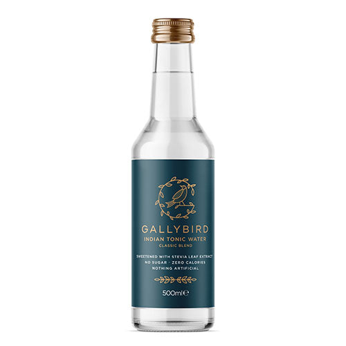Gallybird Premium Indian Tonic water 500ml [WHOLE CASE] by Gallybird - The Pop Up Deli