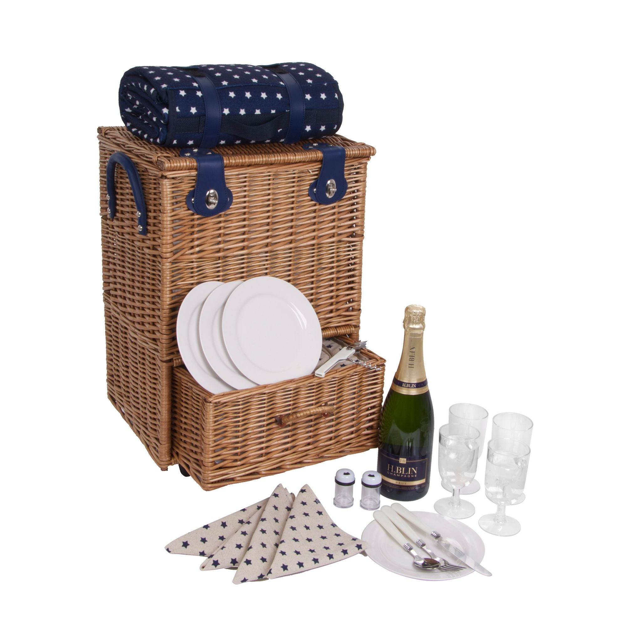 Trolley Picnic Deluxe Star Hamper by GDS - The Pop Up Deli