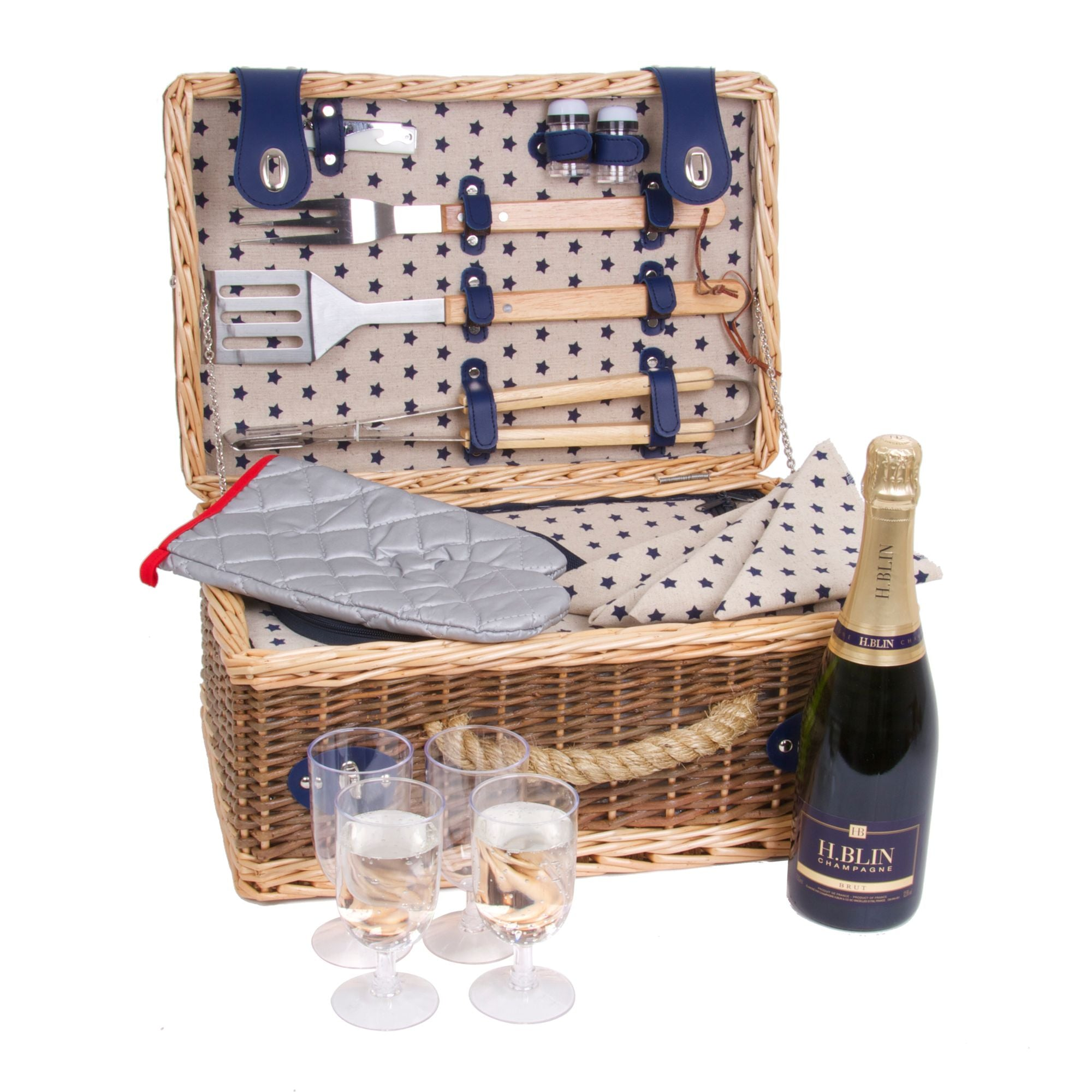 Deluxe BBQ Picnic Hamper by GDS - The Pop Up Deli