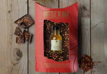 Bottle 'N' Bar with Choc & Chilli Moonshine by GDS - The Pop Up Deli