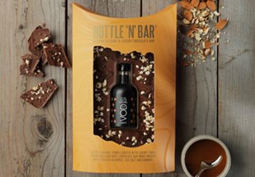 Bottle 'N' Bar With Salted Caramel Vodka by GDS - The Pop Up Deli