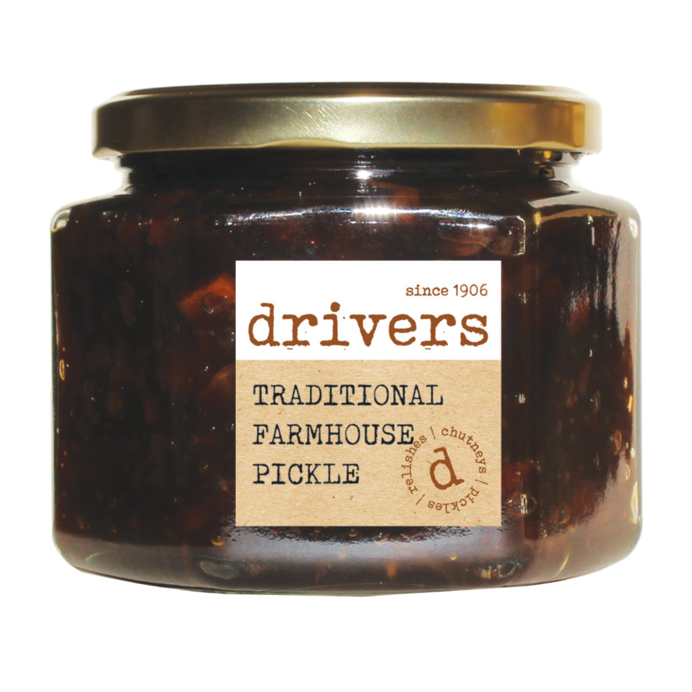 Drivers Farmhouse Pickle (350g) by Drivers - The Pop Up Deli