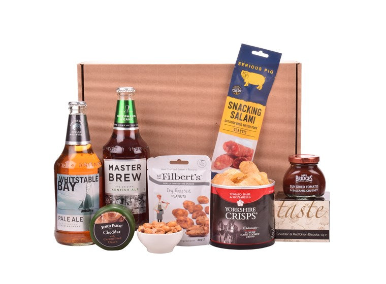 Kentish Ale basket Hamper by The Pop Up Deli - The Pop Up Deli