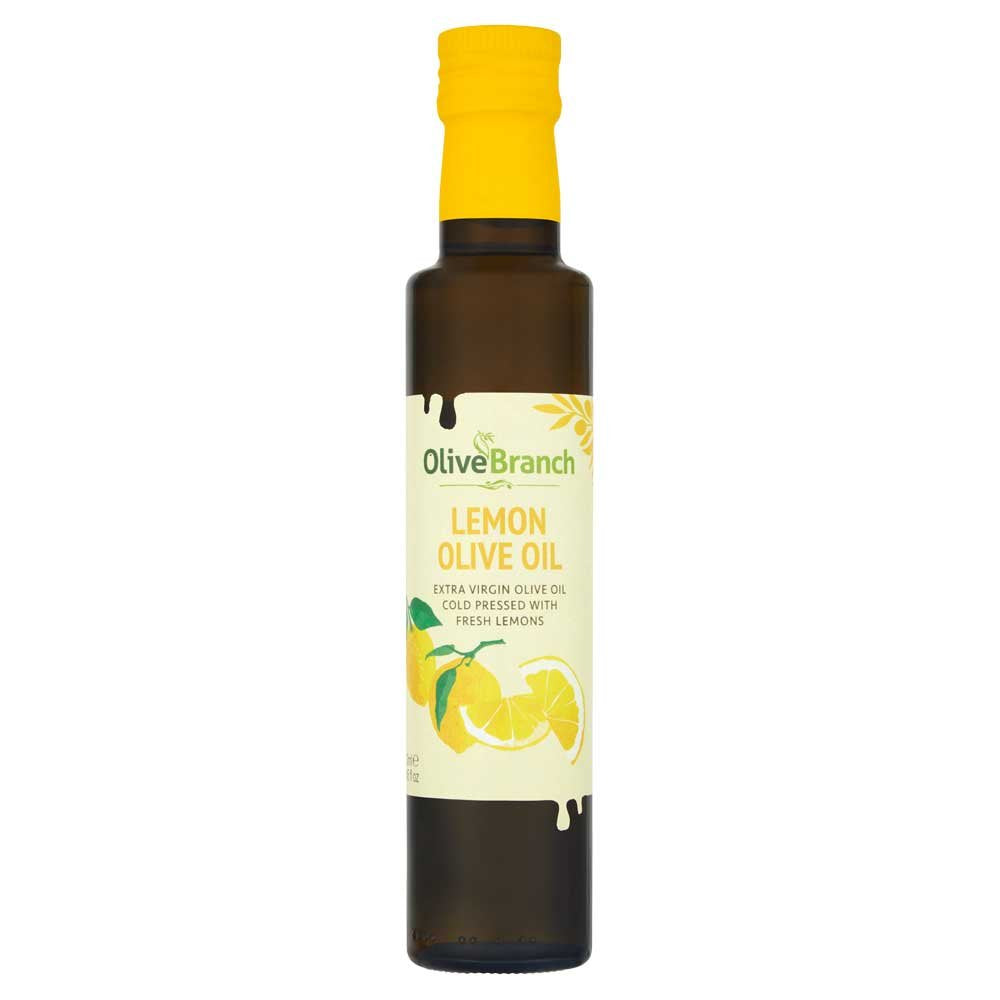 Olive Branch Lemon Extra Virgin Olive Oil [WHOLE CASE] by Olive Branch - The Pop Up Deli