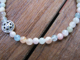 Morganite Stretch Bracelet