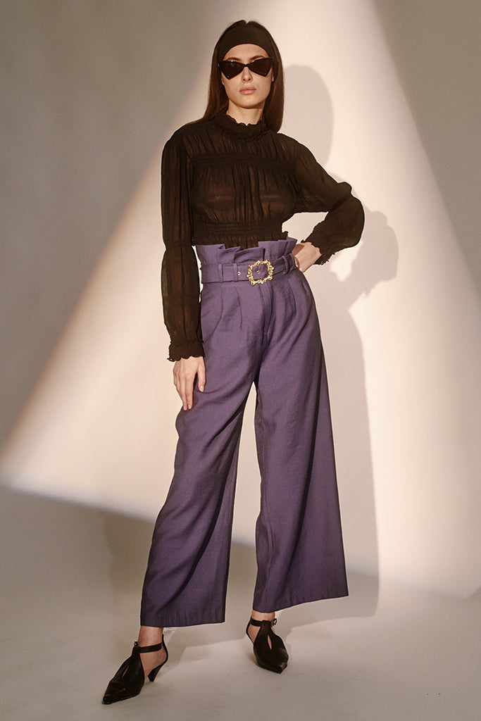 Regal Pants - Purple - Style Mafia
