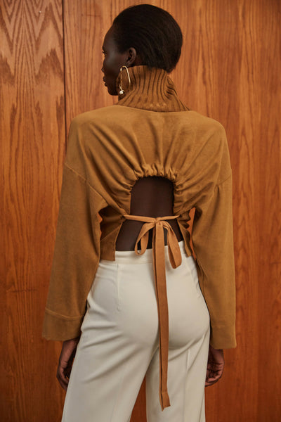 Norma Sweater - Brown