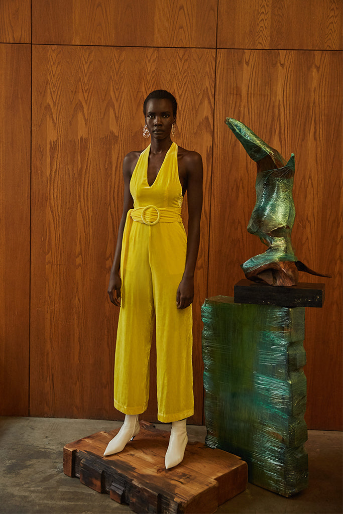 Oli Jumpsuit- Yellow