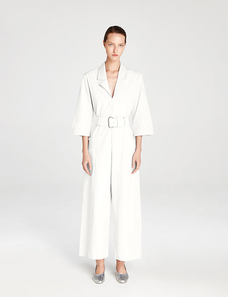 Simo Jumpsuit - White