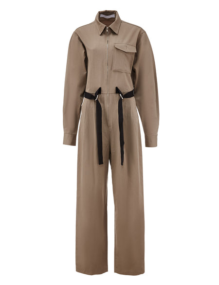 Workwear Jumpsuit - Beige