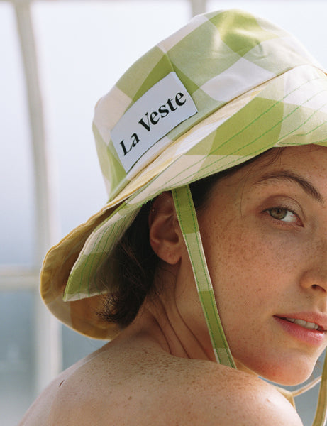 La Veste - Yellow Lime Picnic Hat