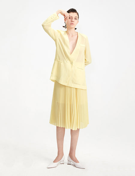 Lorelle Jacket - Yellow