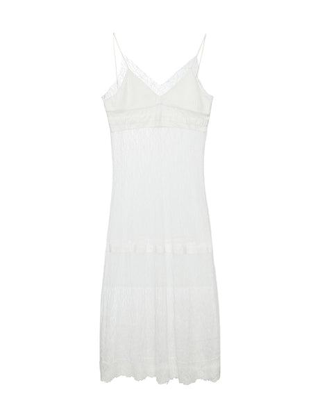 Martina Dress - White