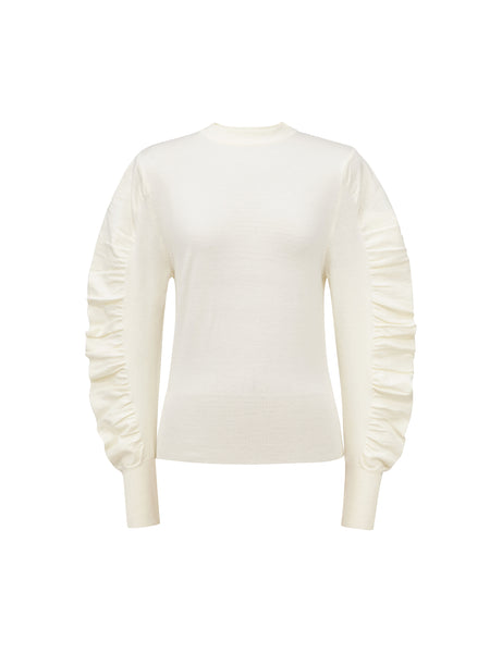 Ocha Sweater - White